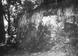 Resti del castello di Rezzoaglio