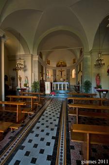 Chiesa di San Giovanni Battista a Pievetta - Maggio 2011 (fotografia di Giacomo Aldo Turco