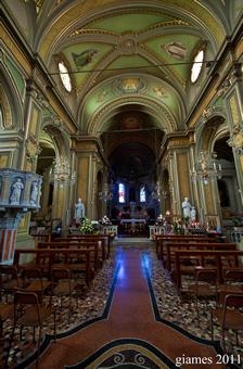 Chiesa di San Michele a Rezzoaglio - Maggio 2011 (fotografia di Giacomo Aldo Turco