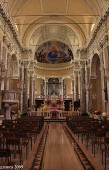 Parrocchia dei Santi Angeli Custodi ad Amborzasco - Aprile 2009 (fotografia di Giacomo Aldo Turco