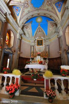 Santa Maria Maggiore a Brignole - Aprile 2010 (fotografia di Giacomo Aldo Turco