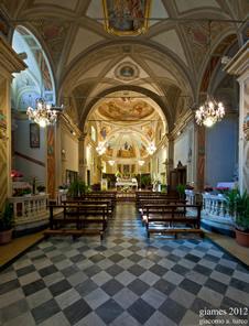 Chiesa di San Giovanni Battista a Priosa, aprile 2012 (fotografia di Giacomo Aldo Turco
