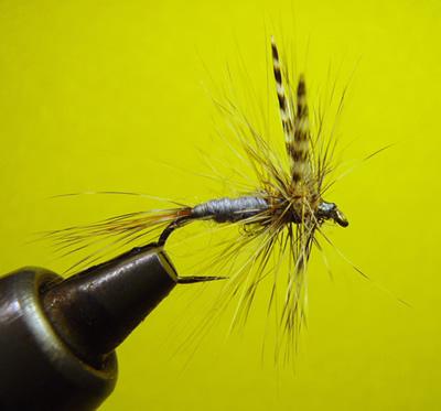 Pesca a mosca: esempio di esca artificiale