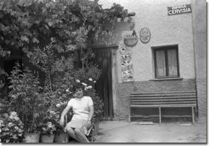 Canale negli anni cinquanta - Trattoria Pensione Gimmi