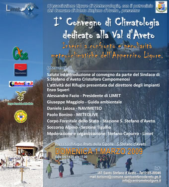 I convegno di meteorologia dedicato alla Val d'Aveto