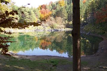 Il Lago delle Lame in autunno (fotografia di Sandro Sbarbaro)