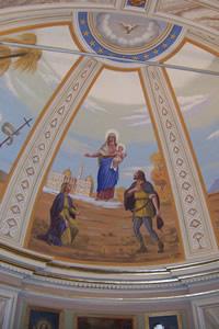Madonna della neve (C. Donati, 1956) - Chiesa di san Gio Batta di Priosa