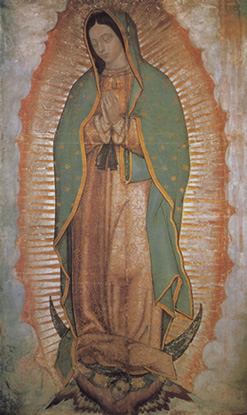 La Madonna di Guadalupe - Città del Messico