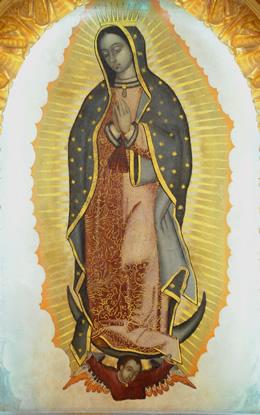 La Madonna di Guadalupe - Santo Stefano d'Aveto