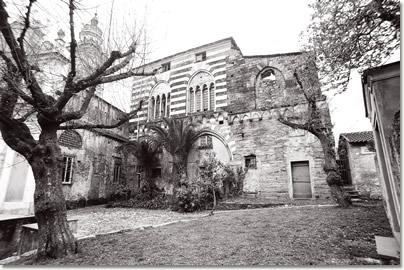 Palazzo dei Fieschi - sec. XIII - San Salvatore di Cogorno (fotografia di Danilo Zagliani)
