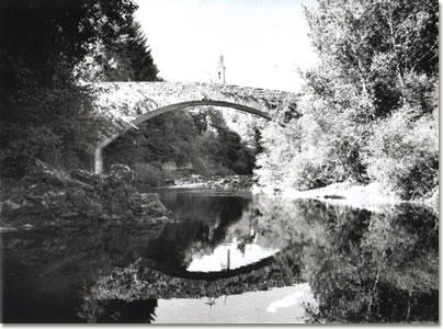 Ponte romano a Rezzoaglio (fotografia di Danilo Zagliani)