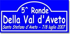 Ronde della Valdaveto 2007