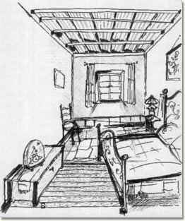 A camera di ciapp n la stanza lastricata for Disegno stanza