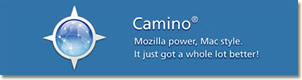 Camino. Mozilla power, Mac style
