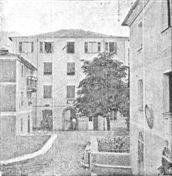 Casa della Giudicatura nel 1910