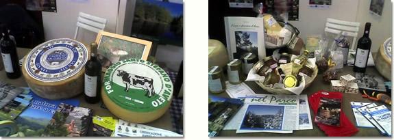 Alcuni prodotti tipici esposti alla Fiera Agroalimentare Finalborgo 2007