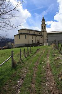 Chiesa di Amborzasco - Fotografia di Giacomo Turco