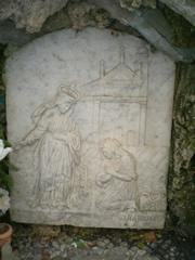 Madonna di Caravaggio dello scultore Domenico Cella (fotografia di Fabio Guidoni)
