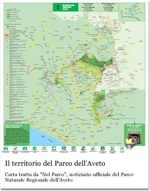 Il territorio del Parco Naturale Regionale dell'Aveto