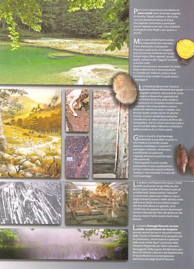 Locandina della mostra 'Paesaggi nascosti: le zone umide'