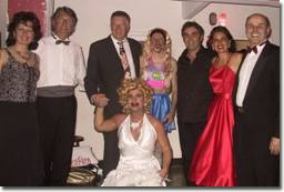 Alcuni protagonisti de 'La notte degli Oscarpioni'