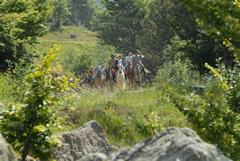 Raduno equestre Parco dell'Aveto - Luglio 2008