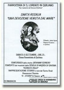 Santa Rosalia - Una devozione venuta dal mare