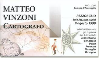 Mostra 'Matteo Vinzoni, cartografo'